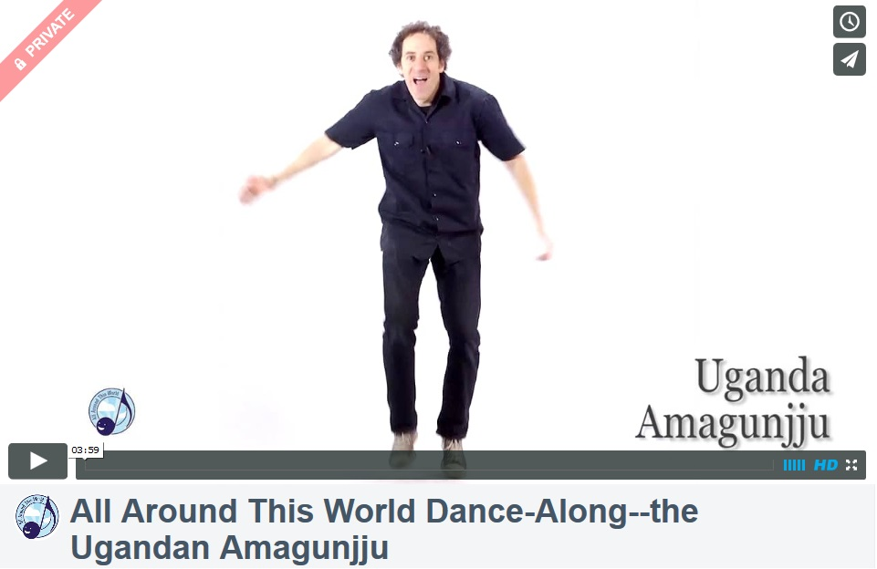 All Around This Word--Africa Dance-Along (The Ugandan Amagunjju)