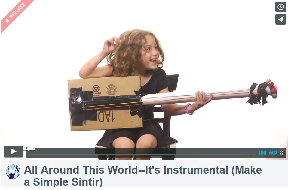 All Around This World--It's Instrumental (Make a Simple Sintir)