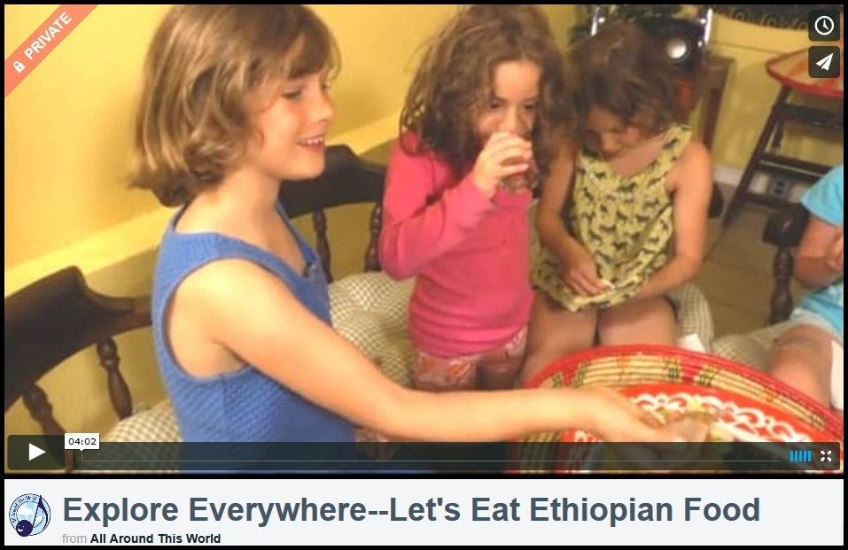 Explore Everywehre--Let's Eat Ethiopian Food