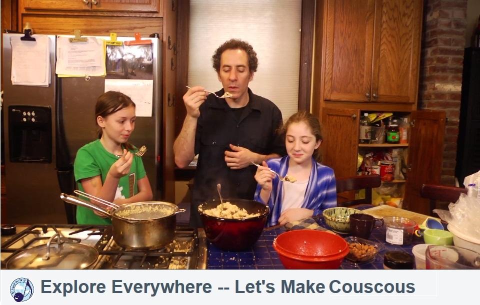 Explore Everywehre--Moroccan Couscous(4)
