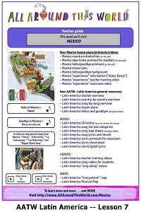 AATW--Latin America CLASSROOMS Lesson 7 -- Mexico