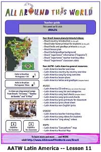 AATW--Latin America CLASSROOMS Lesson 11 -- Brazil