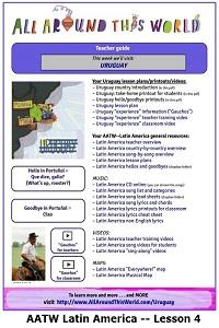 AATW--Latin America CLASSROOMS Lesson 4 -- Uruguay