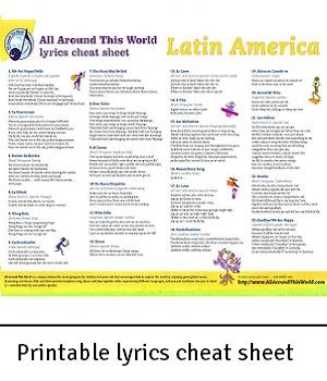 AATW--Latin America CLASSROOMS lyrics cheat sheet for landing-2