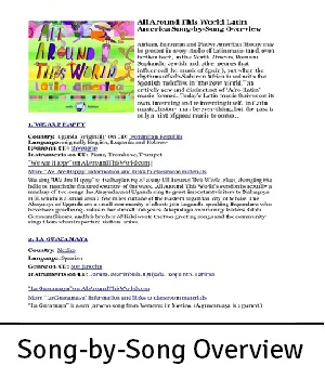 AATW--Latin America CLASSROOMS song-by-song overview for landing page2