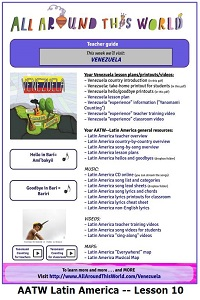AATW--Latin America CLASSROOMS Lesson 10 -- Venezuela