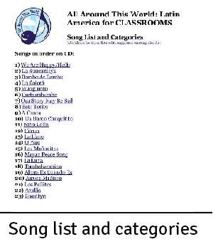 AATW--Latin America CLASSROOMS song list and categories example for landing-2