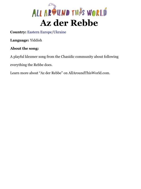 AATW--SAN song info -- Az de Rebbe_page_001