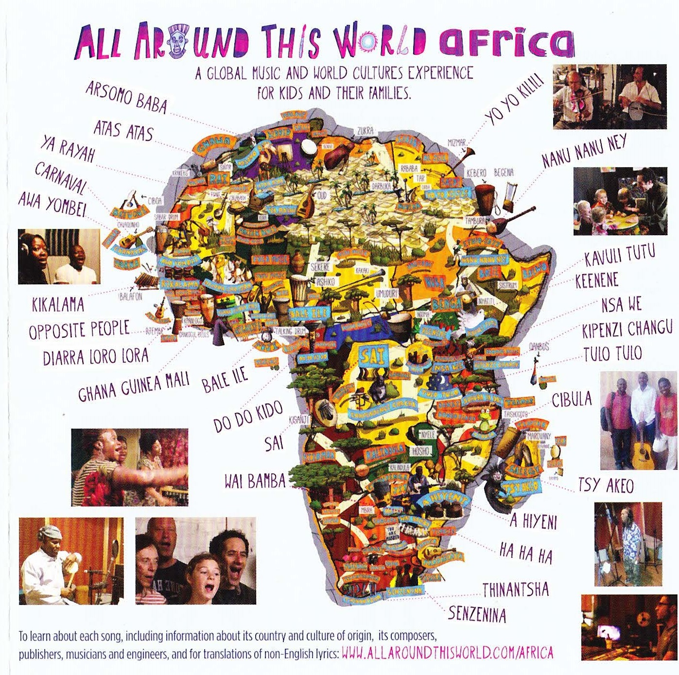 African songs for kids -- What you teach your kids MATTERS